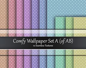 3D model Comfy Wallpaper Seamless Textures Sets