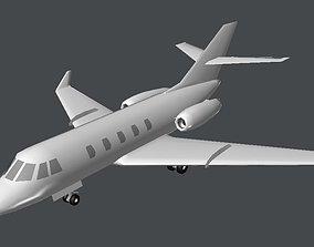 3D model Learjet