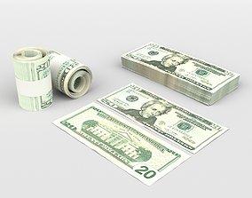 3D model 20 US Dollars