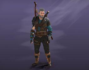 Archer 3D asset