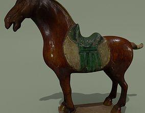 Horse Statuette Y 3D