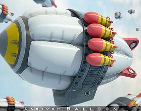 3D model game-ready balloon