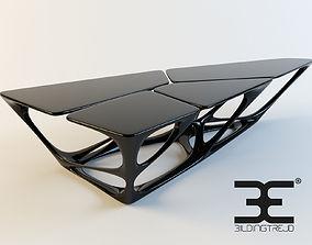Iconic Coffee Table Zaha Hadid 3D model
