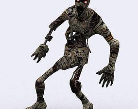3DRT - Mummies animated VR / AR ready