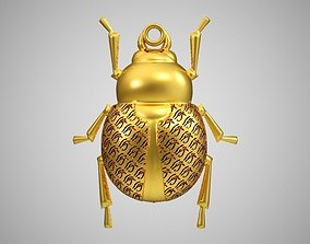 Scarab Necklace 3D printable model