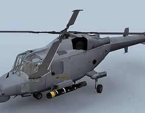 Lynx Wildcat AW159 Royal Navy Helicopter 3D model