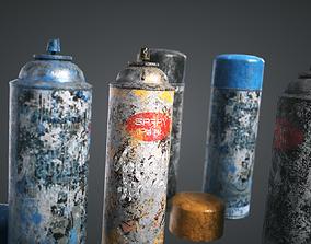3D asset Spray Paint Pack