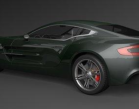 Aston Martin one 77 3D model aston