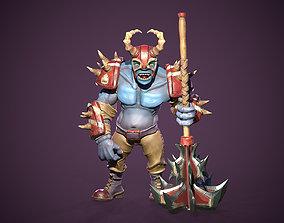 3D asset Ogre Warrior Game Ready