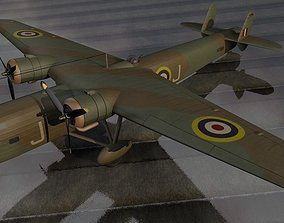 3D model Handley Page HP-54 Harrow Mk-2