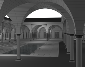Romain atrium 3D model