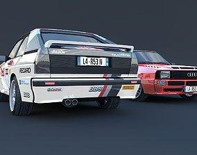 3D model Audi quattro S1