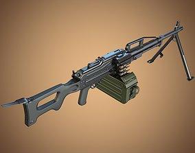 3D model PKP Pecheneg Machine Gun