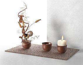 3D model Ikebana Composition