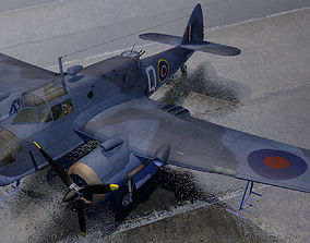 Bristol Beaufort Mk-2A 3D