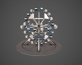 Ferris wheel carousel 3D model