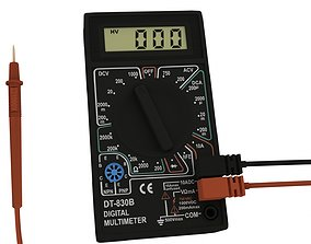 DT-830B Digital Multimeter 3D model