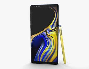 3D Samsung Galaxy Note 9 Ocean Blue