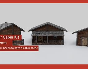 Modular Cabin Pack 3D model