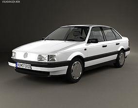 3D Volkswagen Passat sedan 1988