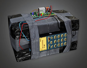 Explosive Device 2 BHE - PBR Game Ready 3D asset