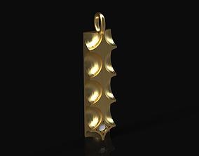 Model 152 Louis Vuitton Diamond Necklace LV