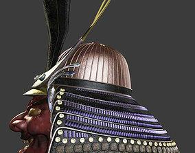 Oni Samurai Helmet 3D model
