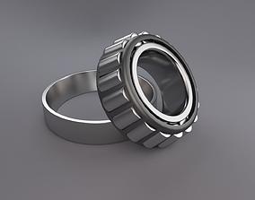 3D bearing tapered thrust