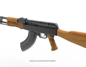 3D model rigged AK-47