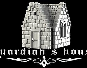 3D printable model Guardian house