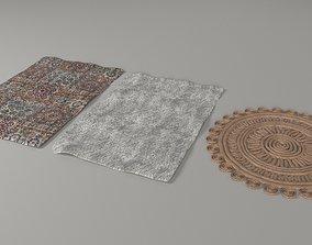 Carpets 3D asset game-ready