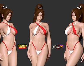 3D print model kingoffighter Mai in bikini