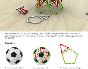 3D printable model TriPent Modular Toy