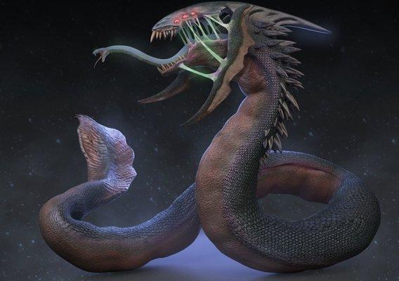 Serpent/Xenomorph hybrid