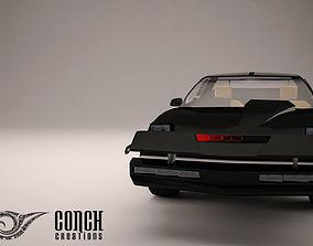 Knight Rider Car 3D model