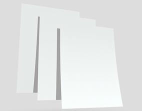 3D model CC0 - Paper