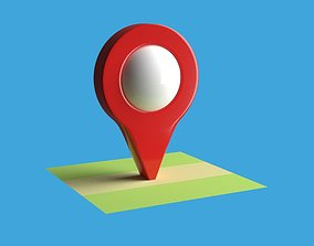Map Pointer 3D model