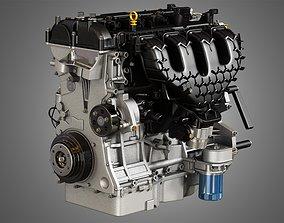2013 Escape Engine - 4 Cylinder EcoBoost 3D model