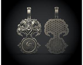 Pagans Veles charm 3D printable model
