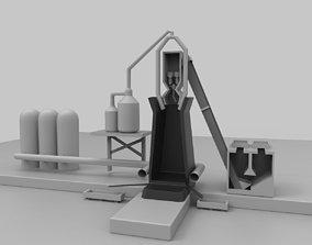 3D model Blast Furnace