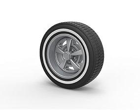 3D printable model Diecast Sport wheel 9