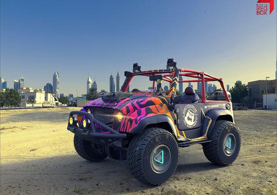 Automotive Concept Viz