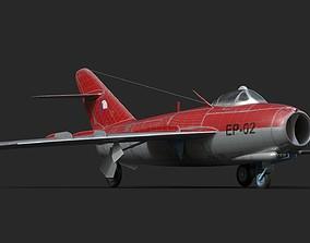 3D model mig-17 Czech