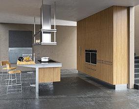 3D Kitchen Arclinea Lignum