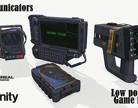 3D asset VR / AR ready Communicators