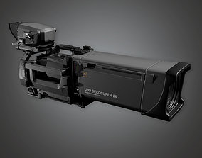 3D asset HLW - Production Camera 01 - PBR Game Ready
