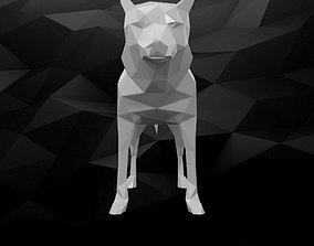 3D Printable Dog Model