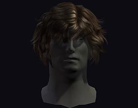 3D asset hair style 22