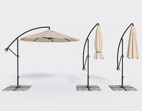 Umbrella Deck Parasol 1 3D model