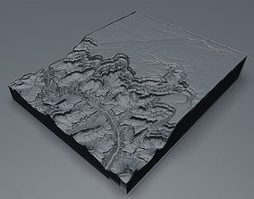 The Grand Canyon in Arizona United States High Poly 3D 1